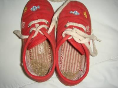Las zapatillas olvidadas